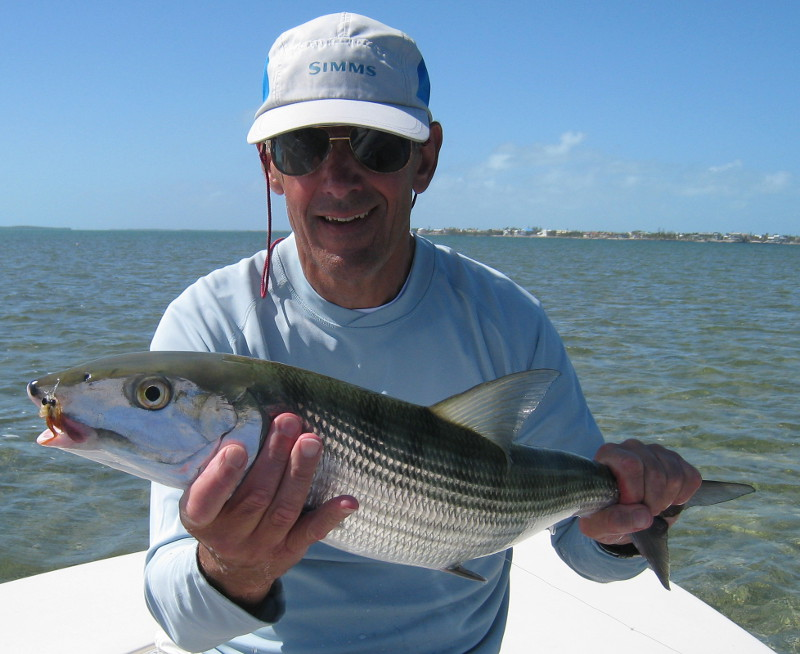 large bonefish caught in march