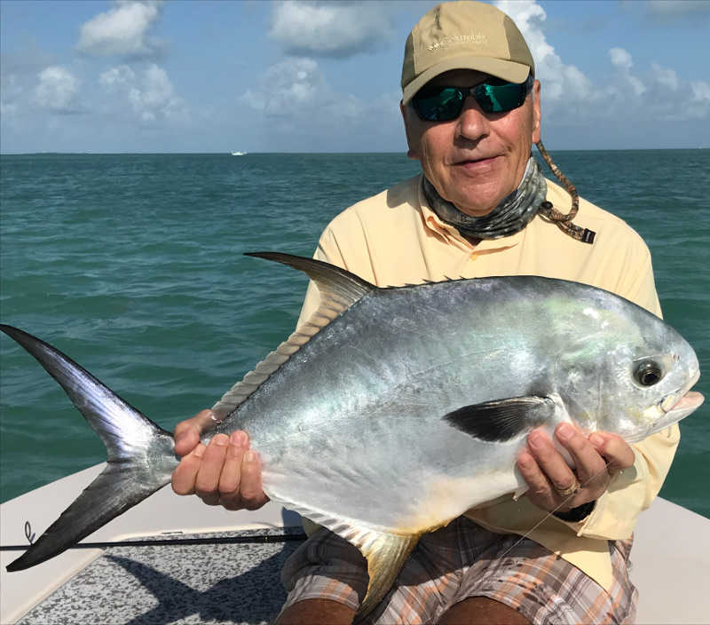 april permit caught on fly rod